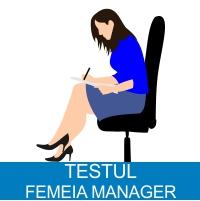 Test eligibilitate Femeia Manager